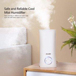 6.2折起 低至€10.33可收Amazon 加湿器限时折 保持室内健康湿度 让居家变得更舒适