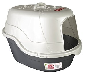 $17.91 Nature's Miracle Oval Hooded Litter Box