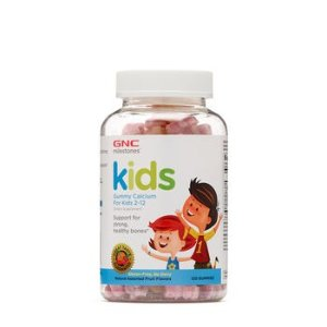 GNC Kids Bone Health 补钙软糖