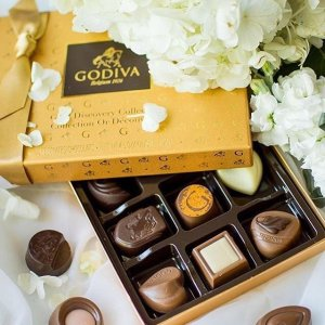 Free chocolate from G CubesGodiva Fall Collection