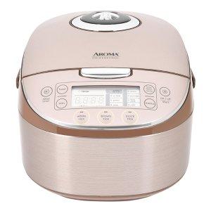 独家:AROMA 多功能全智能电饭煲 16杯熟米容量