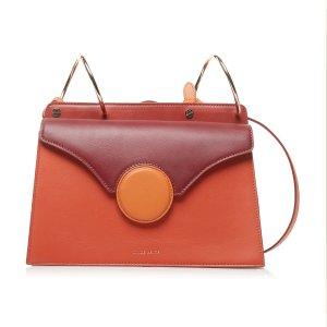 Danse LentePhoebe Color-Blocked Leather Shoulder Bag