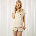30% Off With $100 PurchaseKara Shirt and Short Rose Dust Sale @ Bluebella