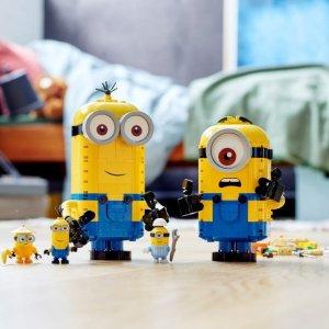 优惠价49.99惊喜补货:LEGO Minions超萌小黄人套装 75551 快把他们带回家