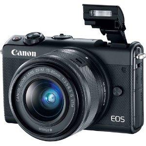 $399 (原价$603)Canon EOS M100 + 15-45mm + 配件 无反相机套装