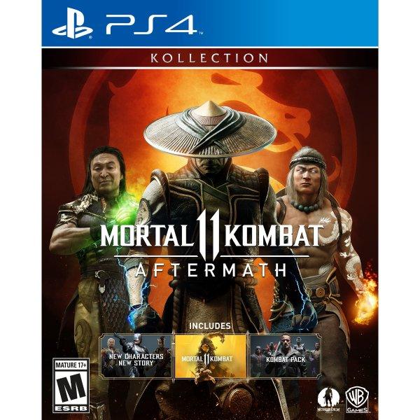 真人快打11 Aftermath 合集 PS4 实体版