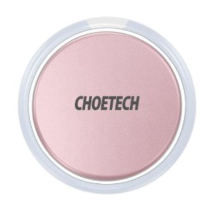 $6.99CHOETECH Wireless Charger with Smart Lighting Sensor