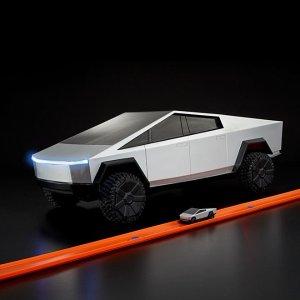仅需$20正版Tesla Cybertruck Hot Wheels遥控车领回家