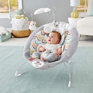 $46.79(原价$59.99)史低价:Fisher-Price 豪华电动婴儿摇椅,悠扬音乐更助眠