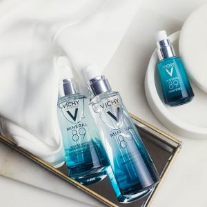 7.5折 £7收绿标去屑洗发水Vichy 薇姿全线药妆、洗护热卖 收89火山能量瓶,温泉保湿面霜