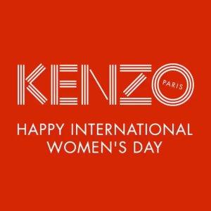 低至5折 收logo短袖半年一度:Kenzo 季中女装 配饰大促