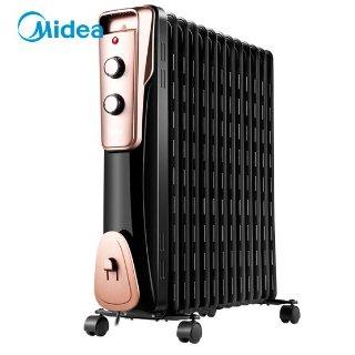 到手¥299美的 Midea 家用节能取暖器  静音加湿烘衣
