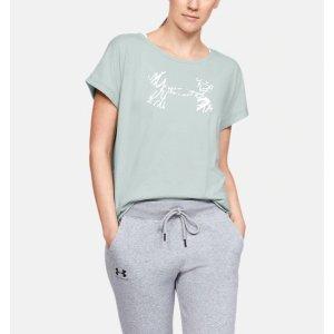 UA 女款短袖T恤