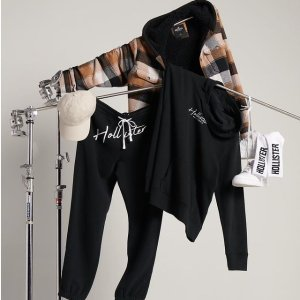7折热卖Hollister 休闲服饰配饰促销 背心、短裤$12收