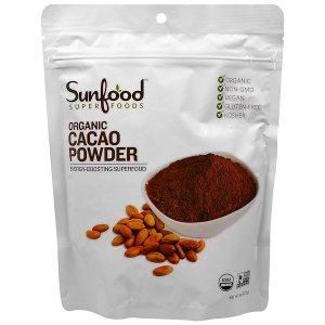 Sunfood 有机可可粉 (227 g)