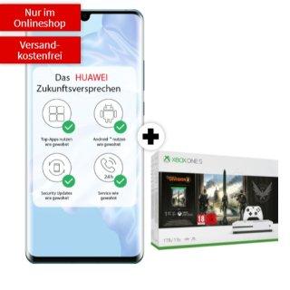 包月上网10GB 两年下来白得33.25欧超值华为 p30 pro手机合同 现在还送Xbox One S+游戏