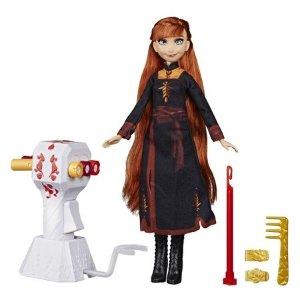 Hasbro奥娜公主娃娃+头发编织工具玩具套装
