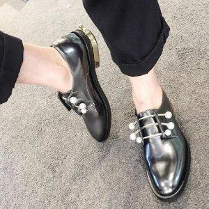 无门槛8.5折 收经典三根珍珠杠Coliac美鞋 被大幂幂带断货的珍珠鞋上新