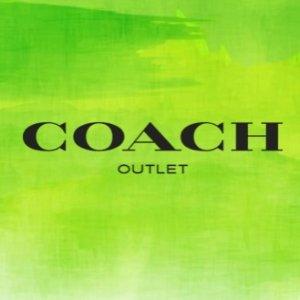 低至2.5折+男款额外8.5折Coach Outlet 特惠更新 平价Prada包$99 卡包礼盒$33