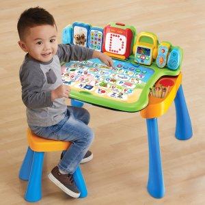 VTech 兒童探索游戲學習桌,還可轉換為小畫板