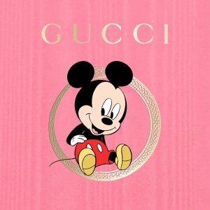 上新价$840起Gucci 米奇帆布鞋上线 专柜买不到这里有