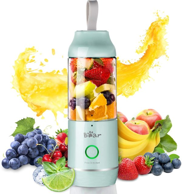 便携迷你榨汁机果汁机 可当充电器