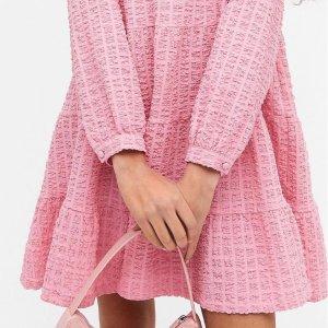 6.3折 碎花裙仅£12Monki 春夏新款连衣裙白菜价闪促 收甜美碎花裙、小黑裙等