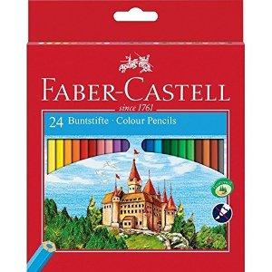 仅售4.39Faber-Castell 111224 彩色铅笔24色装