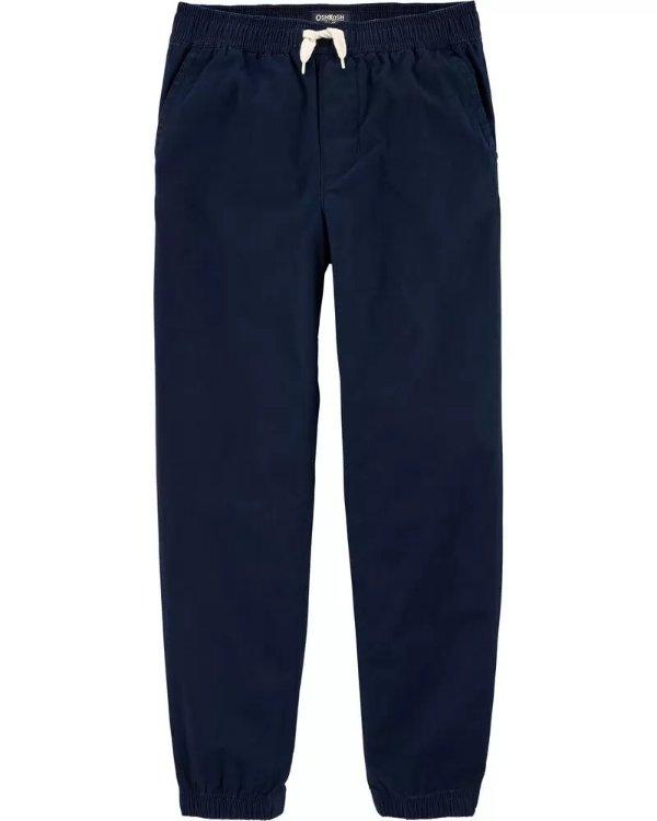 男童、大童紧口长裤