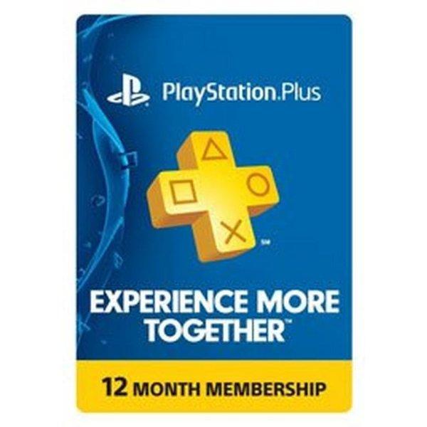 PlayStation Plus 12 Month 订阅
