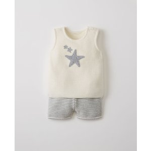 Hanna Anderssonextra 20% off $100, extra 30% off $200Sweater Set In Organic Cotton
