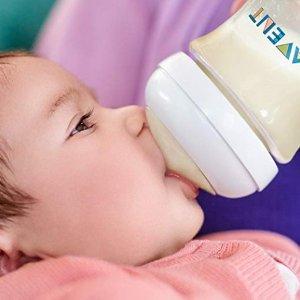 $5.6(原价$8.99)史低价:Philips Avent 宽口婴儿奶瓶,9盎司