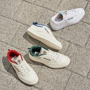 低至4.5折+包退 封面款$90夏日必败:SSENSE 平价小白鞋专场 $65收厚底小白鞋