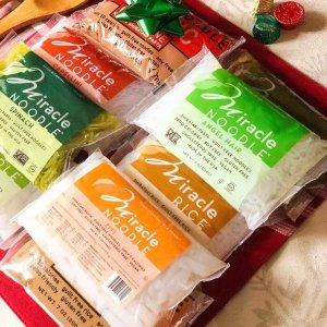 $11.18 (原价$13.98) 减肥福音Miracle Noodle 魔芋面 7oz 6袋 0卡路里