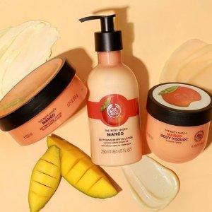买三免一 变相67折The Body Shop 护发、身体护理系列大促 多个热门系列都有