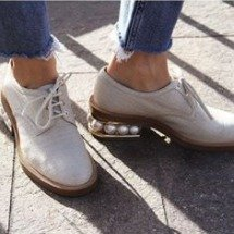 至高减$275 春夏入新款Nicholas Kirkwood女士鞋履 收珍珠跟鞋