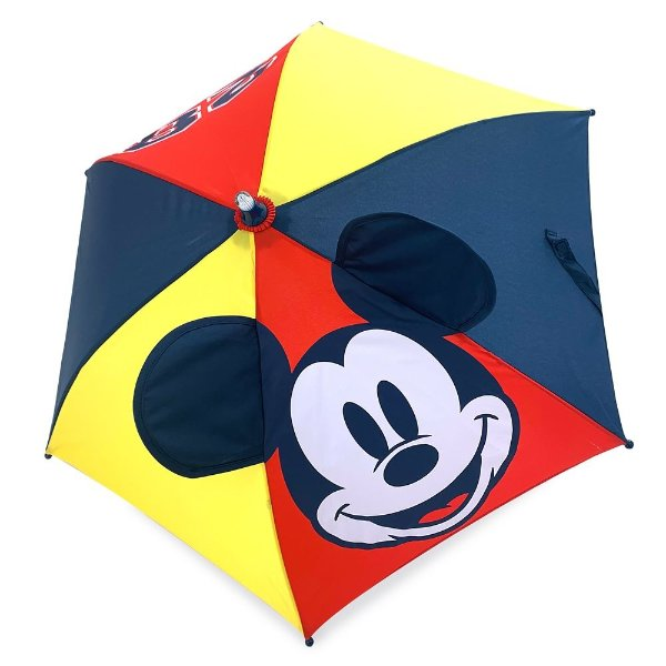 米奇图案 雨伞 手柄可变色