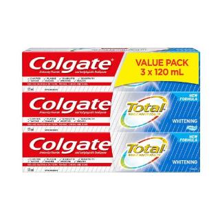 $5.62 (原价$8.49)史低价:Colgate 高露洁全效美白牙膏  超值3盒装