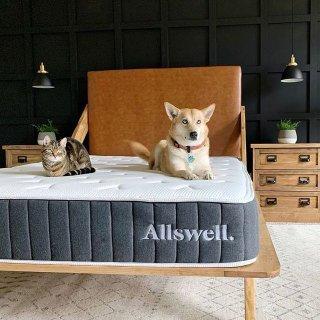 额外8.5折 部分清仓商品可享折上折Allswell 全场高品质床垫和设计师床品独立日热卖