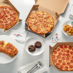 50% OffDomino's First Time App Orders