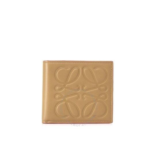 Brand Brown Bi-fold Coin 钱包