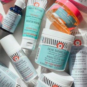 近期新低6.5折+满赠护肤4件套First Aid Beauty 热卖,LA MER平价面霜大罐装仅$29