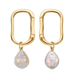 Monica VinaderAlta Stud and Pearl Earring Set   Jewellery Sets   Monica Vinader