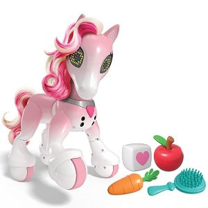 zoomer Show Pony with Lights, Sounds and Interactive Movement @ Amazon