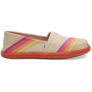 TomsMulti-Color Sunset Canvas Women's Espadrilles