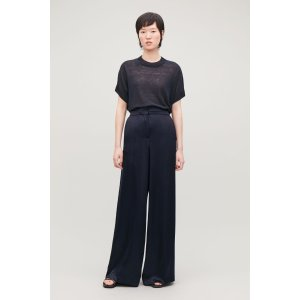 COSSMOOTH WIDE-LEG TROUSERS