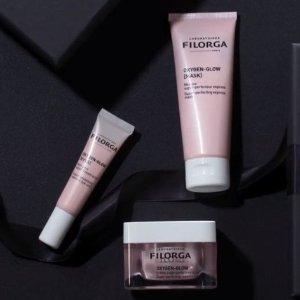 线上8折+额外8.5折 新品也参加Filorga 全线产品大促 新品粉色樱花注氧系列少女感满满