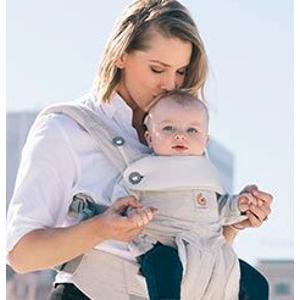 Prime到手 ¥539史低价:Ergobaby 四式360婴儿背带 亚麻色 适合0-4岁