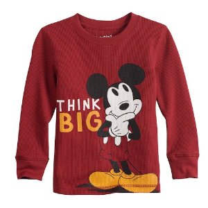 eeb7afe54849 Kohl'sDisney's Mickey Mouse Baby Boy Thermal Graphic Tee by Jumping Beans®.  $4.80 $12.00. Kohl's Disney's ...