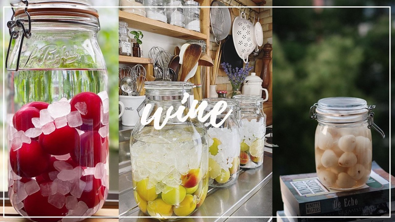 万物皆可泡 |桃子、荔枝和樱桃,学会这个万能泡酒公式,解锁自酿水果泡酒大法!